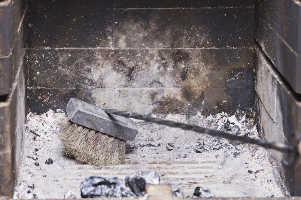 chimney ashes
